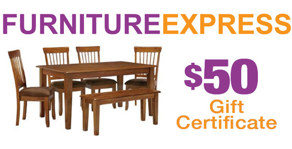Trib Bid Online Marketplace 50 Gift Certificate From Furniture